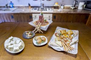 pasticceria salata b&b Villa Carlotta Ferrara