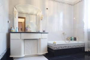 b&b Ferrara Villa Carlotta Toilette